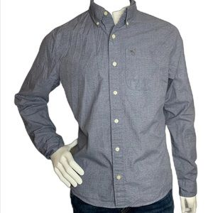 Classic Abercrombie & Fitch Men's Button-Up Shirt
